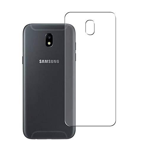 Vaxson 2 Unidades Protector de pantalla Posterior, compatible con Samsung Galaxy J5 2017 [No Vidrio Templado] TPU Película Protectora Espalda Skin Cover