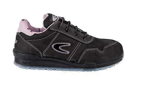 Cofra ALICE S3 SRC - Calzature di protezione da donna, stile scarpa da ginnastica 37 Rosa