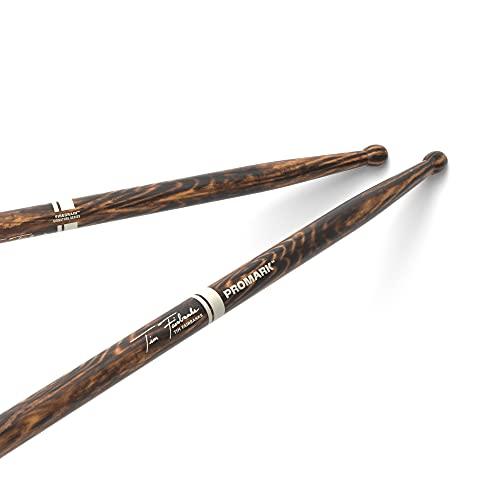 ProMark Tim Fairbanks FireGrain Hickory Drumsticks, Wood Tip, One Pair