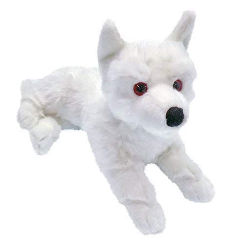 Factory Entertainment Game of Thrones Ghost Direwolf Prone Cub Large Plush