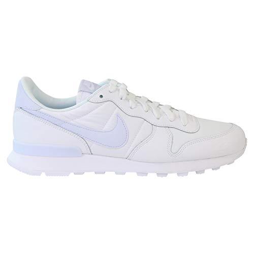 Nike Zapatillas blancas internacionalistas para mujer., color Blanco, talla 36.5 EU