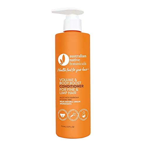 Australian Native Botanicals Natural Conditioner For Fine, Limp & Oily Hair - Vegan Sulfate Free Conditioner For Men & Women - Natural Hair Care, 250 ml