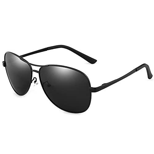 VIJ Gafas de Sol para Hombre, Gafas de Sol, Gafas de Sol, Gafas de Sol, Gafas de Sol polarizadas, Gafas de Noche, Gafas de Pesca