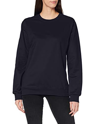 Trigema Damen 574501 Sweatshirt, Blau (Blau 046), 56 (Herstellergröße: XXXL)