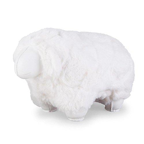 Züny - boekensteun - schaap, Sheep Nell - wit - 22,5 x 12,5 x 15 cm - 1 kg