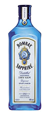 Bombay Sapphire, London Dry Gin, 70cl, 40%
