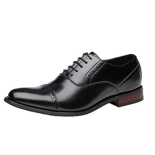 Zapatos de Negocios para Hombre Primavera Verano Zapatos Formales Bajos Zapatos Brogue...