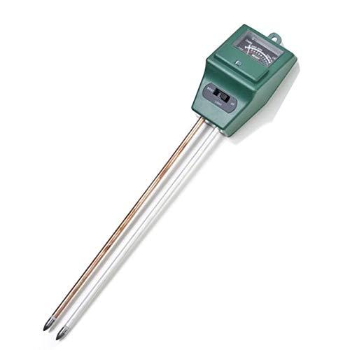 UOEIDOSB 3 en 1 Medidor de pH del Suelo Tiesto higrómetro del Suelo Tester Plantas Crecimiento de Humedad Medidor de luz de Intensidad Instrumento Herramientas de jardín