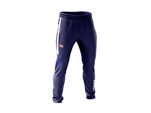 alpas Trainingshose/Jogginghose/Freizeithose Dynamic für Kinder/Jungen Gr. 116 bis 176 *NEU* Sporthose, Farbe: Navy(Marine)/weiß, Größe: 164