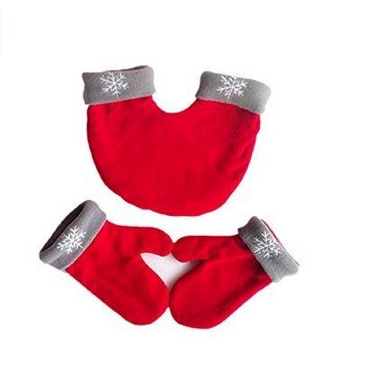 Yssabout Lovers Couples Flocon de Neige pour Couple Tenant Les Mains Gants Double épaississement Chaud