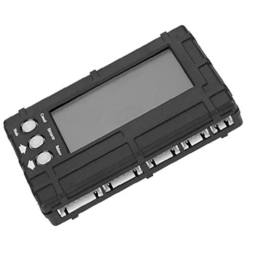 Cargador del balance de voltaje del balanceador RC Indicador Medidor de descargador para 2-6S Li-Po batería Li-Fe