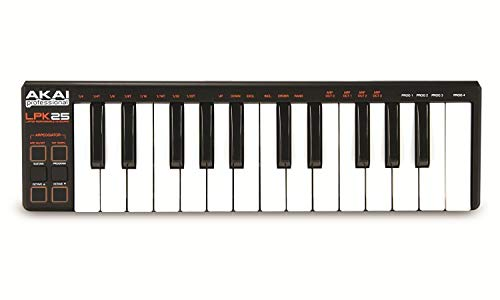AKAI Professional LPK25 - MIDI USB Keyboard Controller mit 25 Tasten für iOS, Mac und PC