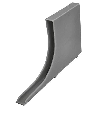 PARCO Fugenlüfter 30x10 mm, Wespen u. Mäuse - Schutz, 50 Stück (Dunkelgrau)