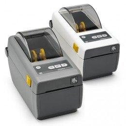 Zebra ZD410, 12 Punkte/mm (300dpi), VS, RTC, EPLII, ZPLII, USB, Ethernet, weiß