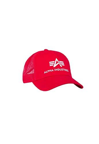 Alpha Industries Basic Trucker Cap (Speed Red)