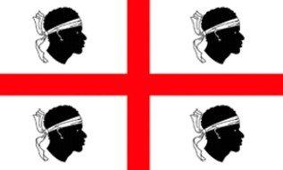 Fahne / Flagge Italien - Sardinien NEU 90 x 150 cm