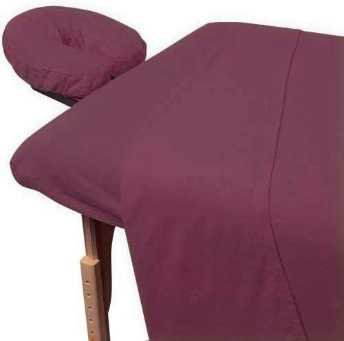 600 Thread Count Supreme Quality Egyptian Cotton 3-Piece Massage