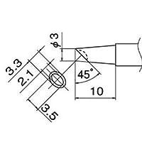 白光 T12-BCM3 こて先/3BC型溝付