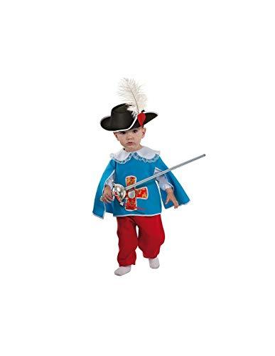DISBACANAL Disfraz Mosquetero beb - -, 24 Meses
