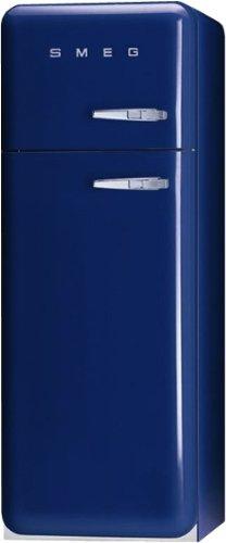 Smeg FAB30LBL1 Independiente 293L A++ Azul nevera y congelador - Frigorífico (293 L, SN-T, 3 kg/24h, A++, Compartimiento de zona fresca, Azul)