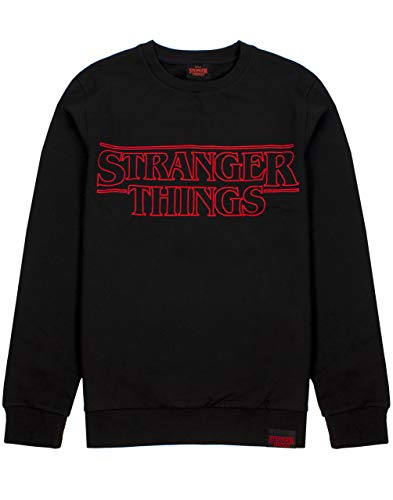 Stranger Things Sweater Logo Adultos Unisex Gift Jumper Hombres y Mujeres
