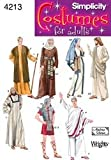 Simplicity 4213 Historical Halloween Costume Sewing Pattern for Men and Women by Andrea Schewe, Sizes A (XS-XL)