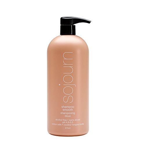 Sojourn Smooth Shampoo, Moisturizing Effect for Frizzy Curly Hair, Restore Natural, Soft,...
