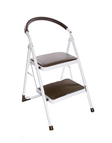 Taburete de paso adecuado for adultos y niños que entrenan a escalera plegable con soporte de la manilla interior escalera portátil/taburete/almacenamiento/Soporte de flor - taburete ** (Color: