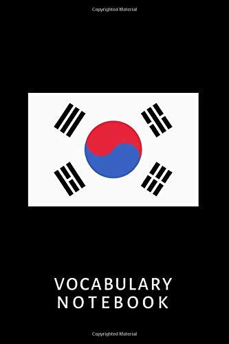 Vocabulary Notebook: Korean, 6