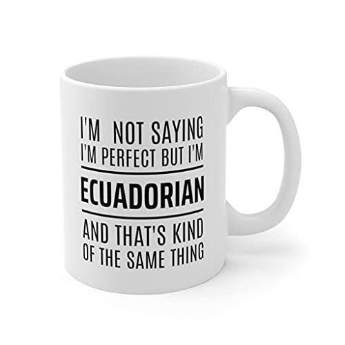 Coffee Mug,Ecuador Gift Ideas, Gift For Ecuadorian, Ecuador Mug, Ecuadorian Gift, Ecuadorian Mug, Ecuadorian Cup, Ecuador Cup, Ecuador Coffee Mug 15oz Made In USA #315