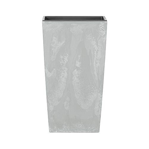 Deuba Fioriera Effetto Cemento Grigio 49L Vaso per Piante 61 x 32,5 x 32,5 cm vasi da Ingresso Giardino Interni Esterni