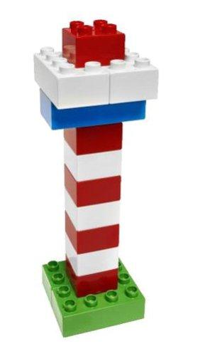 LEGO 6176 DUPLO Basic Bricks Deluxe (80 Pcs.)