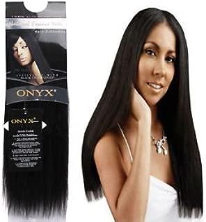 ONYX, 100% Elite Human Hair, Natural Essence Yaki, Affiliated with Black Diamond, 10