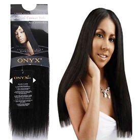 "ONYX, 100% Elite Human Hair, Natural Essence Yaki, Affiliated with Black Diamond, 10"", Color #2, Dark Brown"