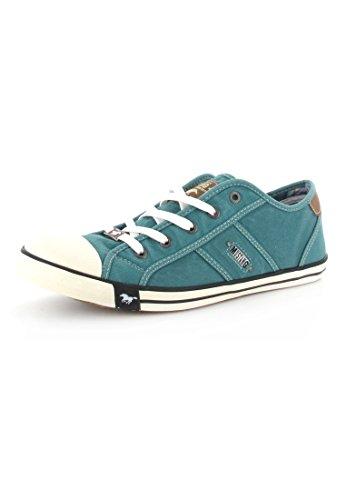 MUSTANG Shoes Sneaker in Übergrößen Grün 1099-302-760 große Damenschuhe, Größe:45