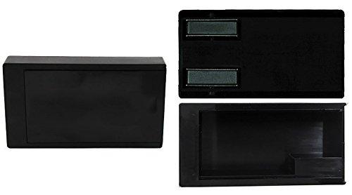geo-versand 3 x Geocaching Magnetic Box, Versteck magnetische Dose Schlüsselversteck Geheim