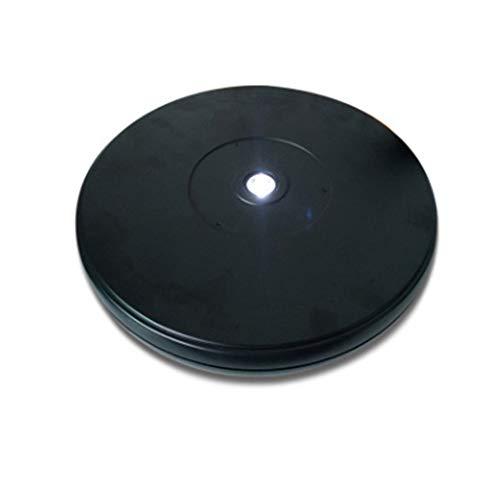 LINGOSHUN Soporte Exhibición Giratorio para Fotografía de 360°con luz LED,Base Giratoria Eléctrica...