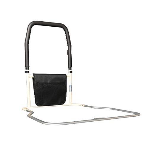 Barrière de lit pour Personnes âgées, Portable, aidant la rambarde de sécurité, avec Ceinture de sécurité et Pochette de Rangement Get Up