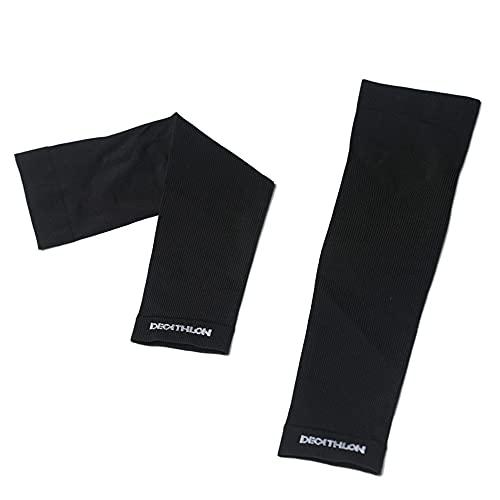 Guoz Mangas para Brazo con protección UV,Brazo Deportivo Transpirable Suave y de Secado rápido y elásticos Manguitos para Conducir Ciclismo Baloncesto Hombre