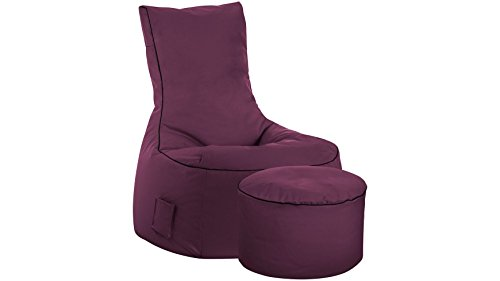 Sitting Point Fauteuil Design Swing Aubergine