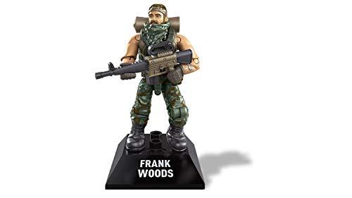 Micro Figura de Ação Frank Woods - Call of Duty - Black Series - Mega Construx