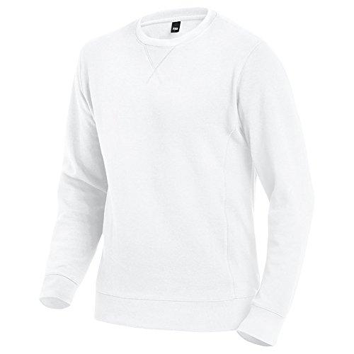 "FHB FHB Sweatshirt ""TIMO"" - 1 Stück, 3XL, weiß, 35-079498-10-3XL"