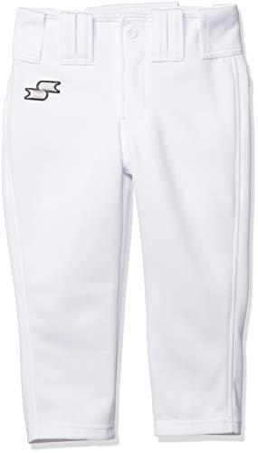 [エスエスケイ] ショートパンツ ベースボールウェア 練習着ショートフィットパンツ[ジュニア] ボーイズ ホワイト 日本 150 (日本サイズ150 相当)
