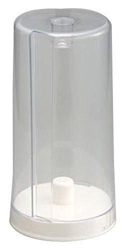 Belca キッチンペーパーホルダー スタンドタイプ 幅14×奥行14×高さ27.3cm ホワイト カバー付き 日本製 ST-PHW