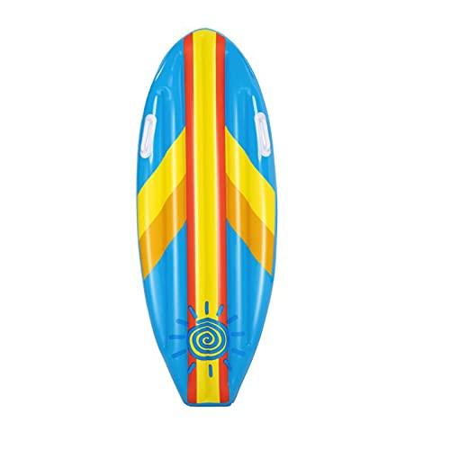 Backboards Tablas Hinchables De Paddle Surf,Ligero Durable Tabla Sup,Antideslizante Doble Mango Exterior Auxiliar De Natación Equipo,para Verano Niños Adulto,Blue