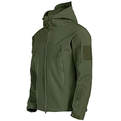 DYXYH Chaquetas de otoño hombres al aire libre chaqueta de senderismo shell Outwear Winderbreaker Chaquetas Ropa (Color : D, Size : L code)