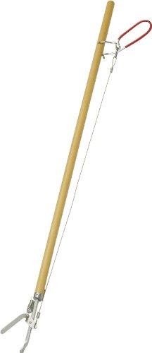 Format 4007105300215 Greifzange Greifboy 85cm mit Holzstiel, Beige, Länge ca. 87 cm