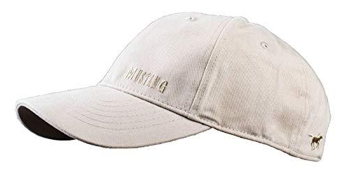 MUSTANG Basecap Mütze 6-Panel-Cap Base Cap Kappe Baseball Cap uni one size div. Farben (dunkle vanille)