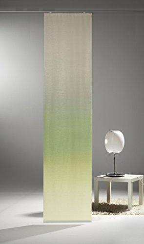 Startex Schiebevorhang, Stoff, Grün