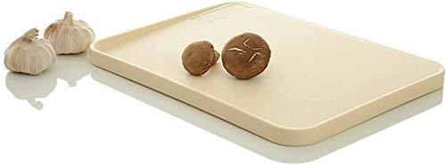 BLLXMX Tabla de Cortar Tableros de Corte multifuncionales for Cocina, tajadera de plástico con área de rectificado, Ideal for Autocaravana cocinera al Aire Libre Tabla de Cortar de Cocina